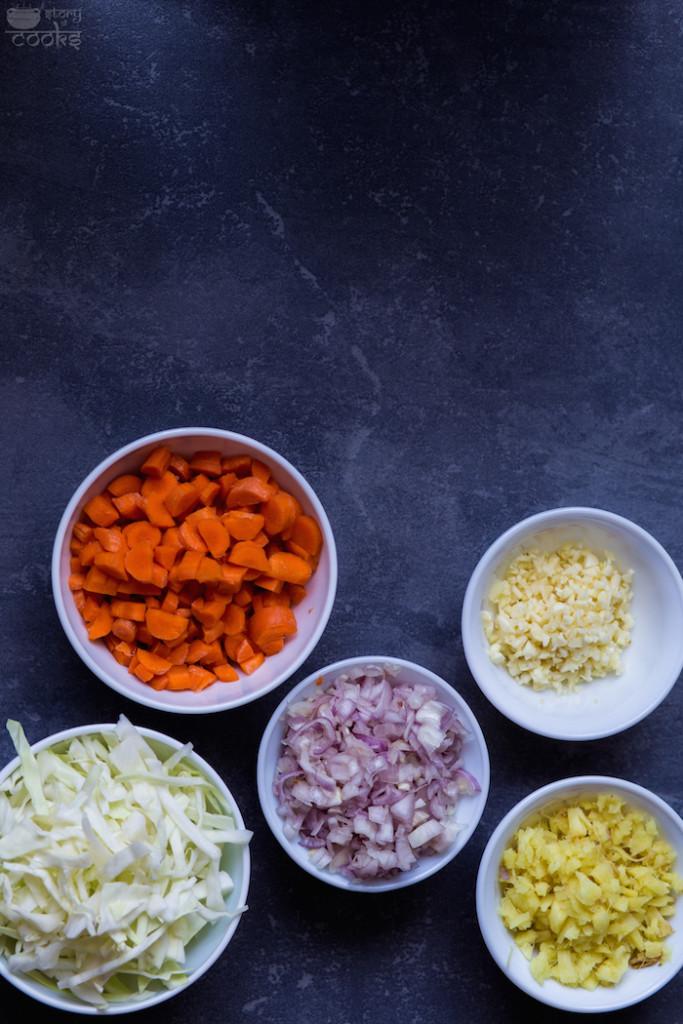 pad thai vegetables