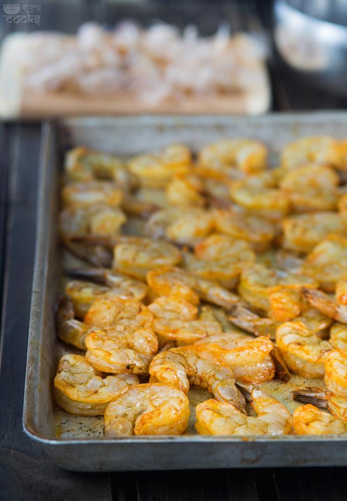 shrimp marination